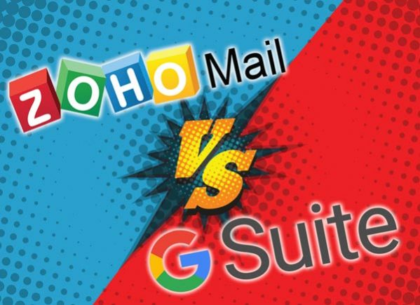 Zoho Mail vs G-Suite