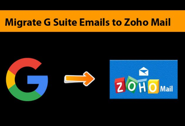 Migrate from G-suite to Zoho Mail